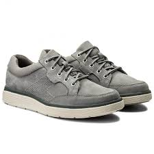 Shoes CLARKS - Un Abode Lace 261326057 Grey <b>Nubuck</b> in 2019 ...
