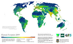 average human s ecological impact on the planet shrinking study the maps produced by a canadian led team of researchers and the u s based conservation group wildlife conservation society look at how human agriculture