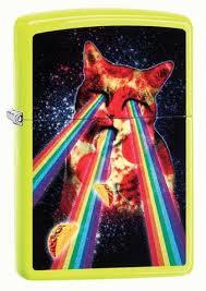 <b>Зажигалка Pizza Cat</b> ZIPPO 29614 купить оптом в Москве