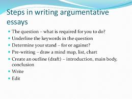 steps to write an argumentative essay  www gxart orgargumentative research paper   sample to write an argument vocabulary is not taught to keywords in