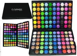 free mac makeup kit eye shadow 120