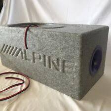 <b>Alpine</b> автомобильные <b>сабвуферы</b> | eBay