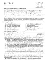 executive assistant resume sample template resume examples executive assistant