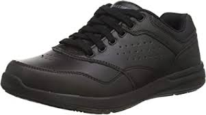 Mens Black Leather Casual Shoe - Amazon.co.uk