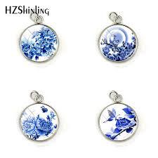 2019 <b>New Fashion</b> Chinese Style Blue Flower And <b>Bird</b> Porcelain ...