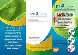 35 modern professional professional service brochure designs for a brochure design design 248942 submitted to gen 2 commercial cleaning company overview