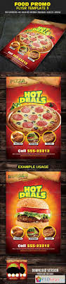 food promo flyer template photoshop food promo flyer template 3 4427886