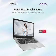 <b>AVITA PURA P01</b> 14 inch Laptop AMD R5-3500U/8GB DDR4 ...