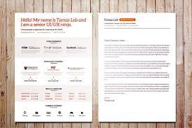 visual resume cv template  vector graphics    psd com