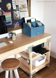 1000 images about office tutorials on pinterest ana white home projects and desks ana white build office