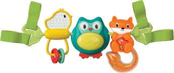 """<b>INFANTINO</b> Навесные <b>вращающиеся игрушки</b> """"Путешественники ..."""