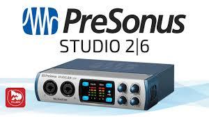 USB <b>Аудио Интерфейс PreSonus Studio</b> 2I6 - YouTube