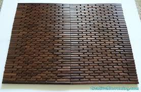 bathroom target bath rugs mats: bamboo bath mat target diy fail wood bathmat bamboo bath mat target