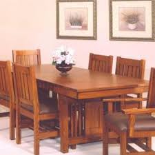dining table mission style room craftsman usa  mission dining table i have this exact dining room tabl
