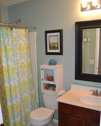 coastal bathroom designs: small bathroom kids sets with and storage blue color wall regarding office design ideas intended for
