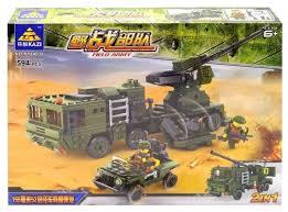 <b>Конструктор Kazi</b> Полевая армия 84039 <b>Зенитные войска</b> ...