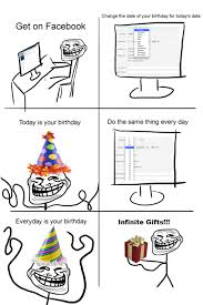 Trollface Meme - Happy Birthday via Relatably.com