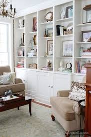 styled built ins amish built home office