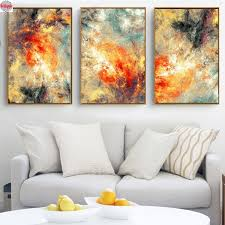 2019 <b>Triptych 5D DIY Diamond Painting</b> New Modern Abstraction ...