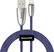 Кабель <b>Baseus Torch Series</b> Data Cable USB for iPhone 1.5A 2m ...