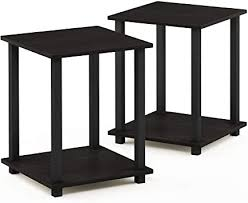 Furinno Simplistic End Table, Espresso/Black: Kitchen ... - Amazon.com
