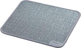 <b>Коврик</b> для мыши <b>Hama Textile Design</b> серый 190x190x3мм ...