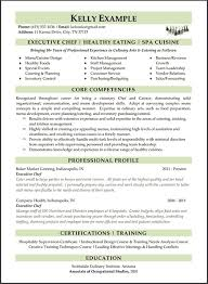 professional resume writing services careers plus resumes chef resume example chef resume objective