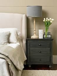 Night Tables For Bedroom Tips For A Clutter Free Bedroom Nightstand Hgtv