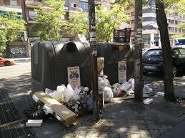 Resultado de imagen de Madrid se ensucia