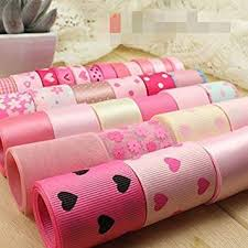 Buy Sewing Supplies 33YDS Solid Printed <b>Grosgrain Ribbon</b> Satin ...