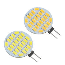 <b>JYL</b> High Power <b>2pcs</b> 24 LED 3528 SMD <b>G4</b> LED Lamp Light Bulbs ...