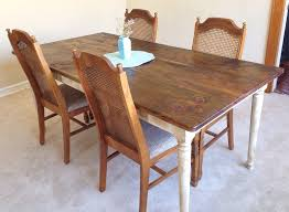 table shabby chic distressed pine rustic dining  shabby chic farm table rustic dining table zoom