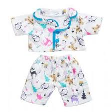 """<b>Blue Snow Princess</b> Gown Outfit Teddy Bear Clothes Fits Most 8""""-10 ..."""