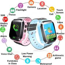 [<b>New Upgrade</b>] 1.4 Inch Kids Bracelet Positioning Touch Screen HD ...