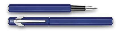 Fountain Pen <b>849</b> Metal White - <b>Caran d'Ache</b>