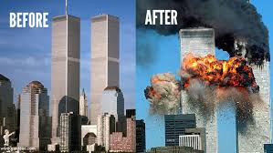 Image result for twin tower attack images