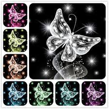 <b>AZQSD Diamond Painting</b> Butterfly Colorful 5D DIY Diamond ...