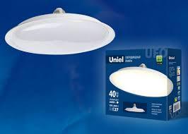 Светодиодная <b>лампа LED</b>-<b>U220</b>-<b>40W</b>/<b>3000K</b>/<b>E27</b>/<b>FR PLU01WH</b> ...