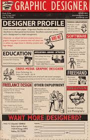 the most awesomely creative resumes ever the magnet 9 a graphic designer s resume