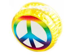 <b>Йо</b>-<b>Йо Эврика Волчок на</b> шнуре Peace №4 97128 | www.gt-a.ru