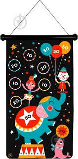 ᐉ <b>Игра</b> магнитная <b>Janod</b> дартс Цирк J02074 • Купить в Киеве ...