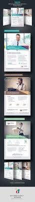 exos writing translation business flyer ad on behance