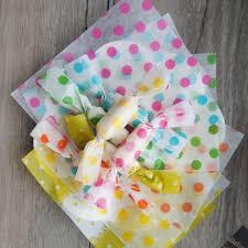 <b>9*12.5CM 100pcs</b> colorful spot design candy Paper for handmade ...