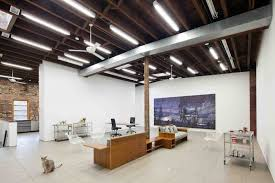 studio design casual and comfortable brooklyn home stays true to its industrial roots brooklyn industrial office