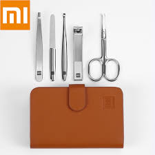 Xiaomi <b>Huohou</b> 5pcs New Manicure <b>Nail Clippers</b> Nose Hair ...