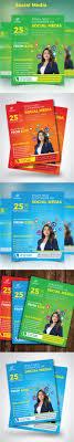 social media marketing flyer by design station graphicriver social media marketing flyer corporate flyers
