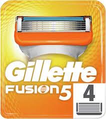Купить Сменные <b>кассеты</b> для бритья <b>GILLETTE Fusion</b>, <b>4 шт</b>. в ...