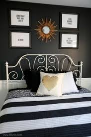 black white and gold guest bedroom so simple and beautiful bedroomcool black white bedroom design