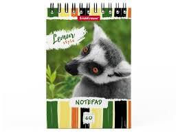 <b>Блокнот ErichKrause Lemur Style</b>, А6, 60 листов (49664) — купить ...