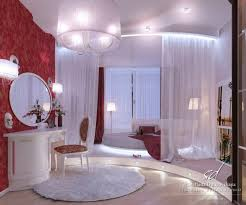 awesome bedroom decoration with round bed and curtain red wall decor pendant lamp and circle wall mirror dweefcom interior decorating furniture and bedroomexquisite red white bedroom